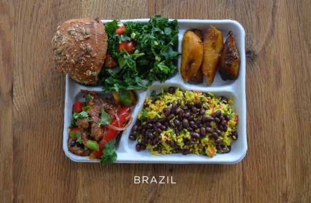 Školské obedy v rôznych krajinách
