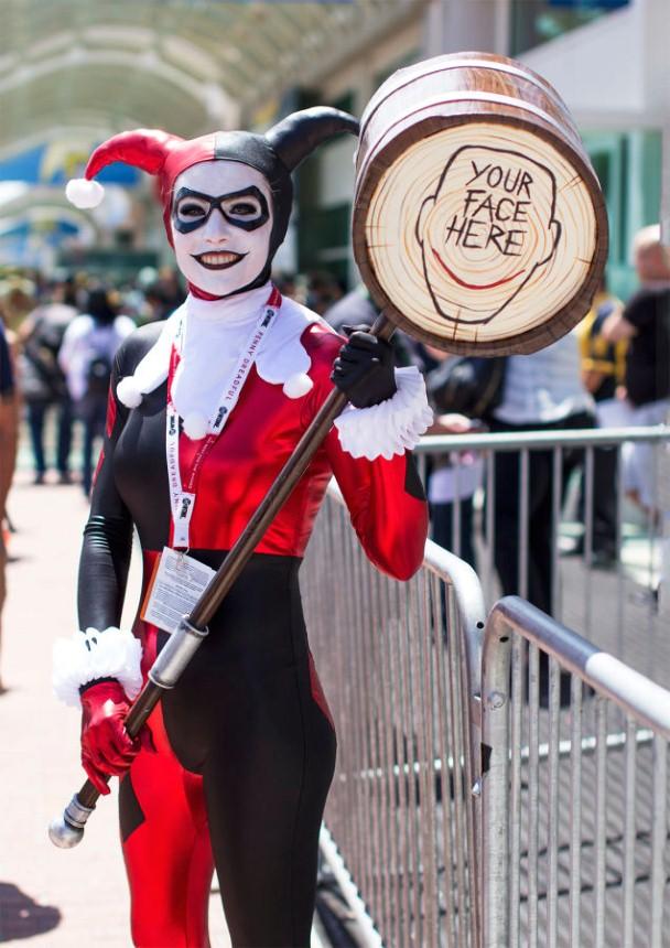 Najbláznivejšie kostýmy na Comic-Con 2015